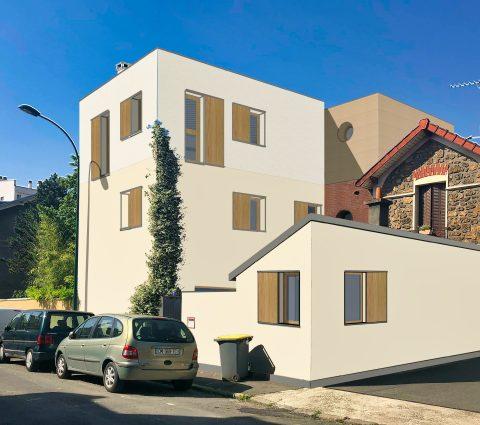 Surélévation Maison Nogent-Sur-Marne, Noyelles