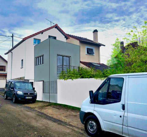 Surélévation Maison Montgeron, Plantes